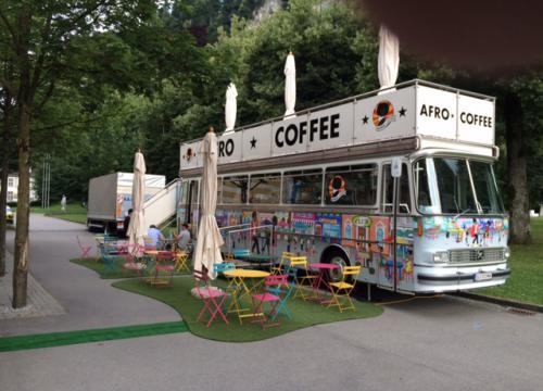 Afro Coffee Bus